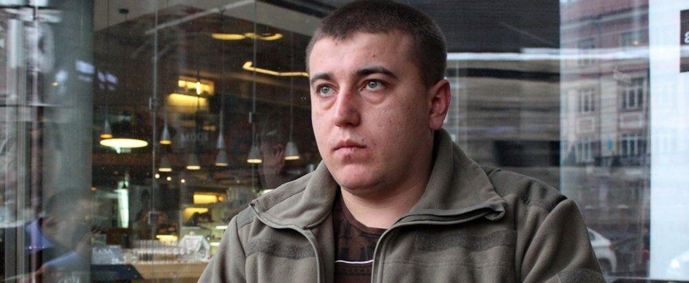 Волонтер Роман Синіцин