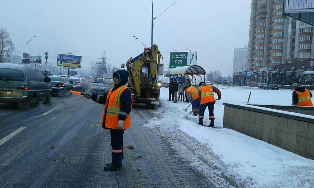 Киев накроет мощный снегопад: водителей предупредили о радикальных мерах