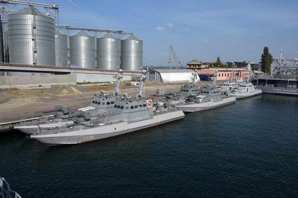 6 малих артилерійських катерів в Одесі (МБАК)