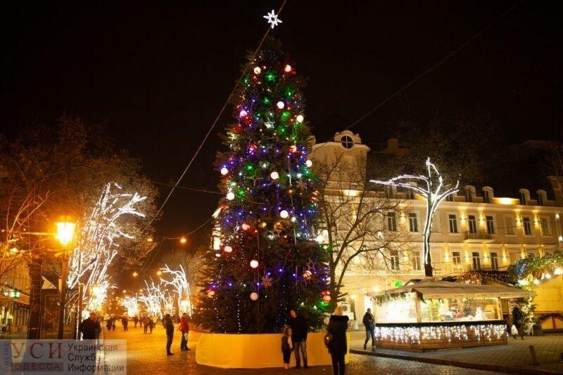 В Одессе зажгли главную елку города: яркие фото