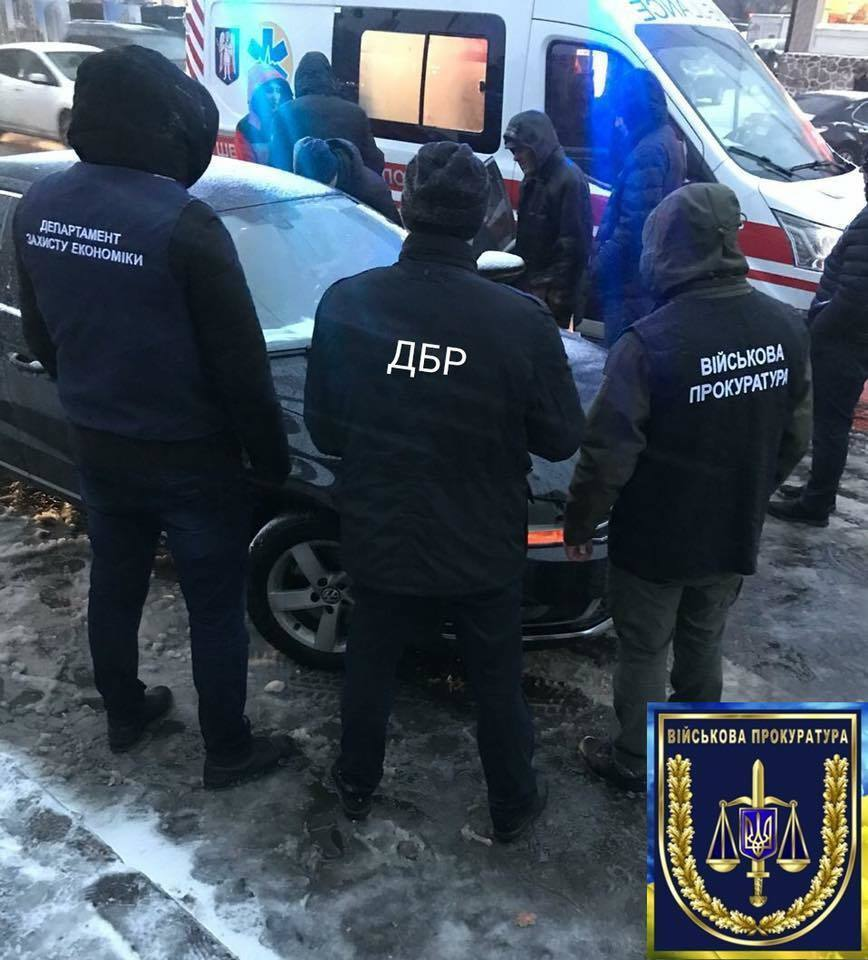 У Києві погорів на хабарі директор держпідприємства Міноборони