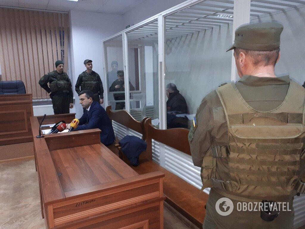Під час засідання Шевченківського районного суду