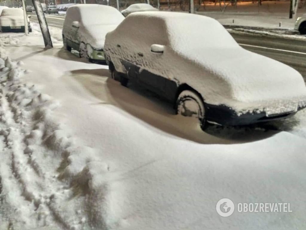 Снігопад 12 грудня