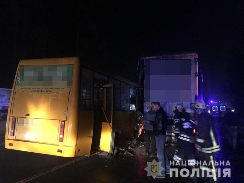 ДТП з маршруткою під Києвом: нові деталі