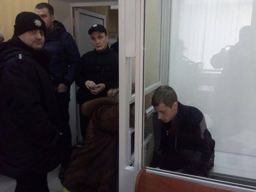 Терорист Джумаєв у залі суду
