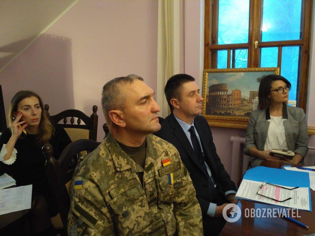 В'ячеслав Кириленко та Ігор Гордійчук на засіданні консультаційної ради