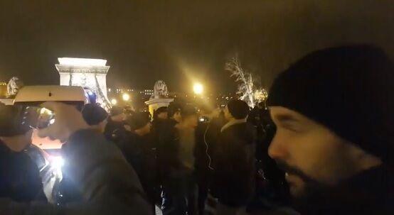 В Будапеште вспыхнули массовые протесты: произошли столкновения. Фото и видео бунта