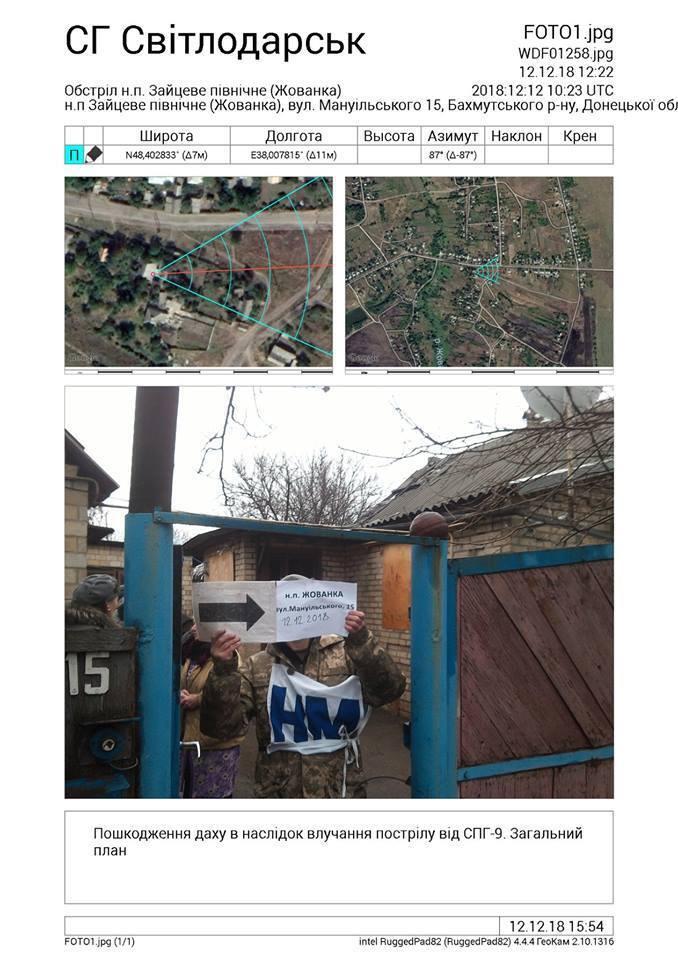 Окупанти обстріляли мирних жителів на Донбасі: фото