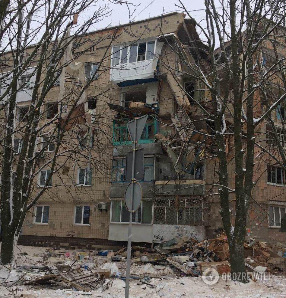 Взрыв в Фастове: очевидцы рассказали подробности ЧП