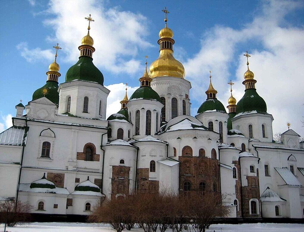 Софійський собор у Києві, де відбувається Об'єднавчий Собор