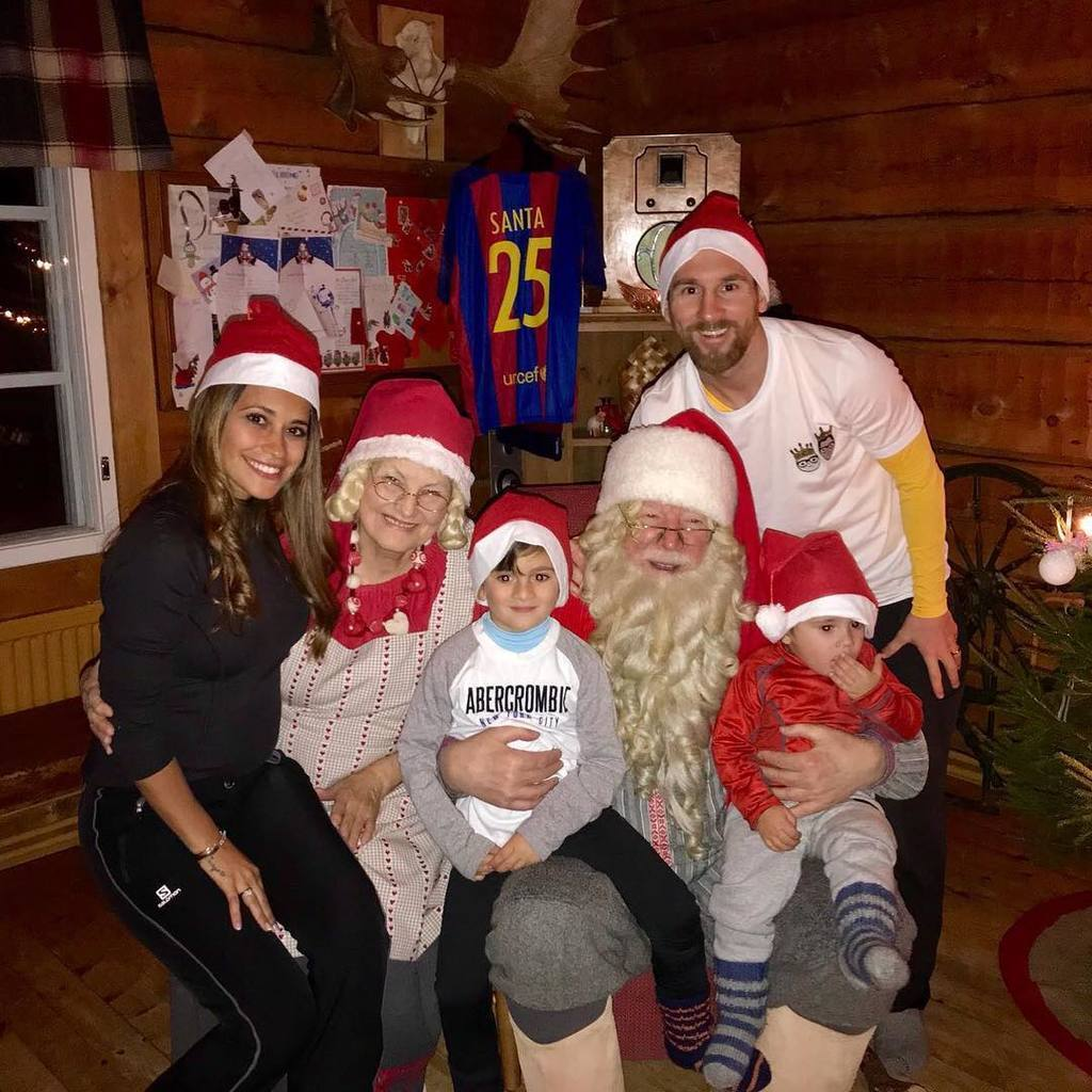 Мессі зробив суперподарунок сім'ї на Різдво