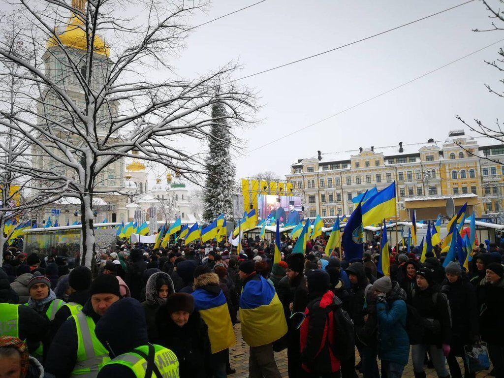 Об'єднавчий Собор у Києві