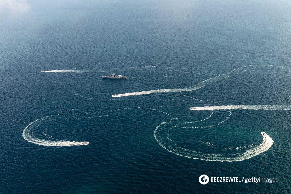 Конфликт в Азовском море