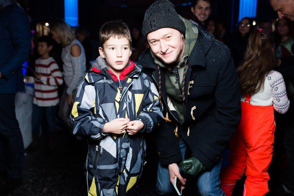 Андрій Хливнюк з сином