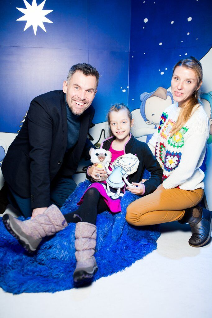 Геннадій Потапенко з сім'єю