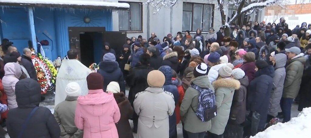 Похорон Снежаны Демьяненко