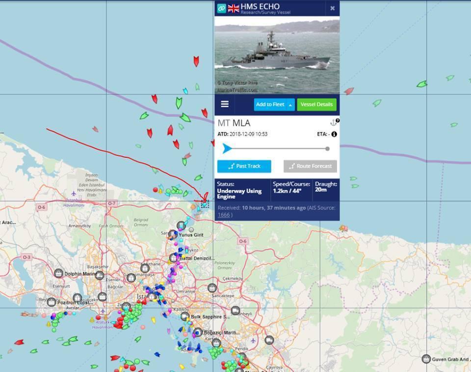 Корабль НАТО срочно прибыл на помощь Украине