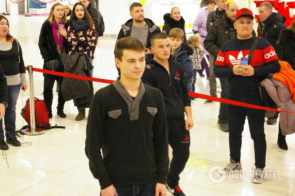 Необычная встреча: как Ломаченко произвел фурор в Киеве