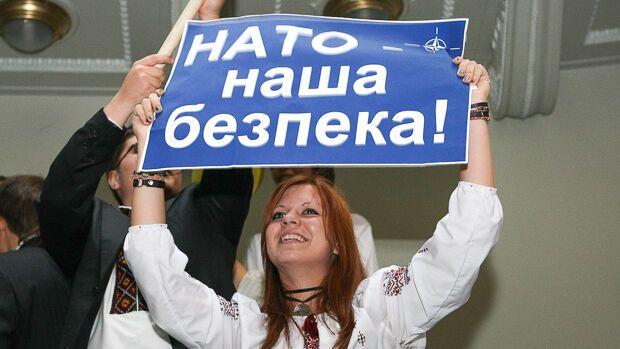 Багато громадян України переконані, що членство в НАТО є найкращою гарантією національної безпеки.