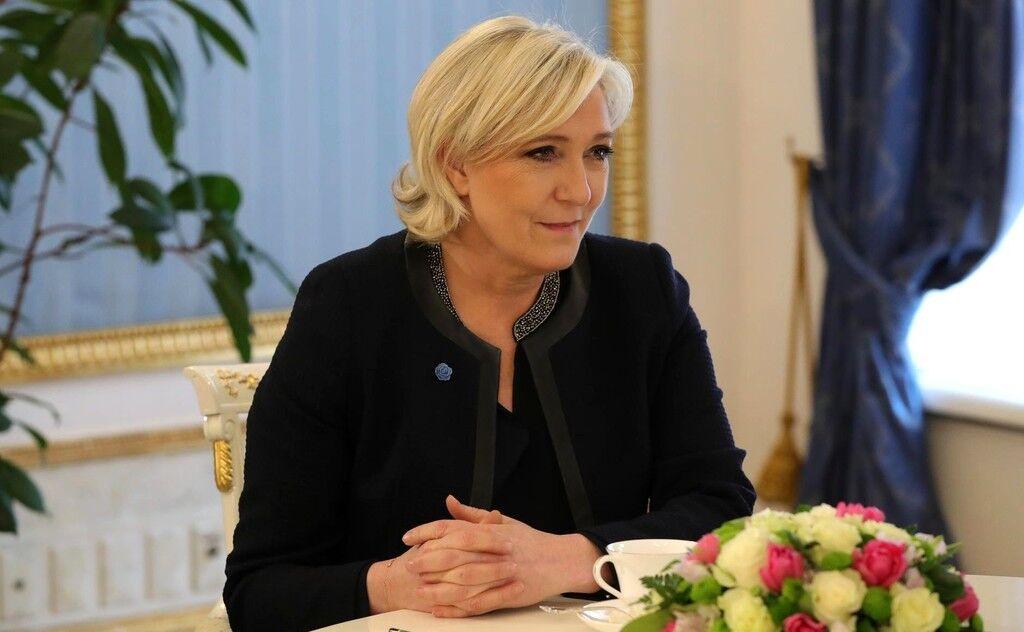 Марін Ле Пен у Кремлі