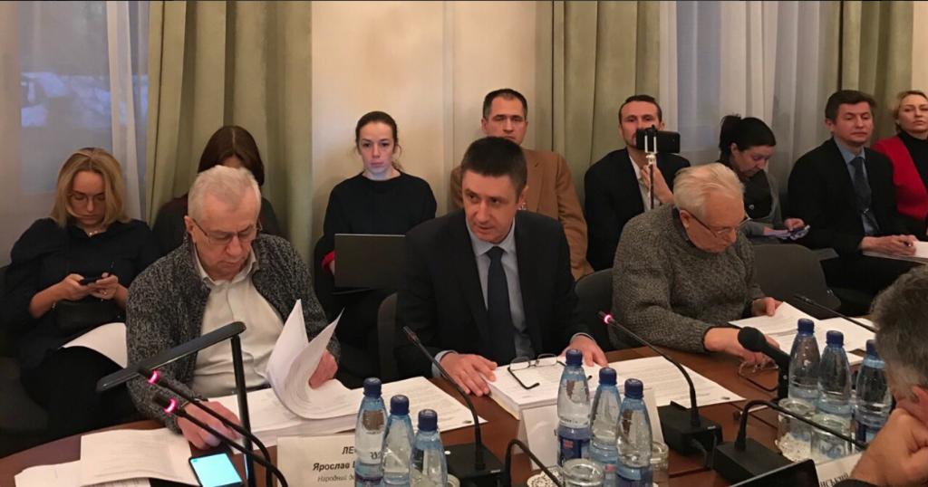 Вячеслав Кириленко, Комитет по вопросам культуры и духовности