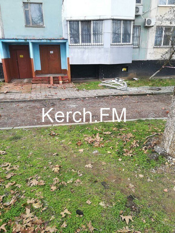 В Керчи произошло новое ЧП