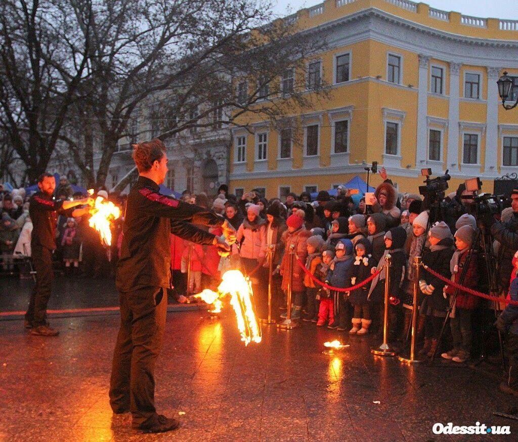 В Одесі стартувало масштабне святкування Хануки