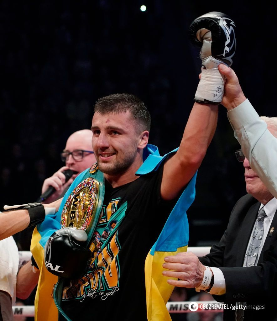 Українець Гвоздик яскравим нокаутом здобув чемпіонський титул