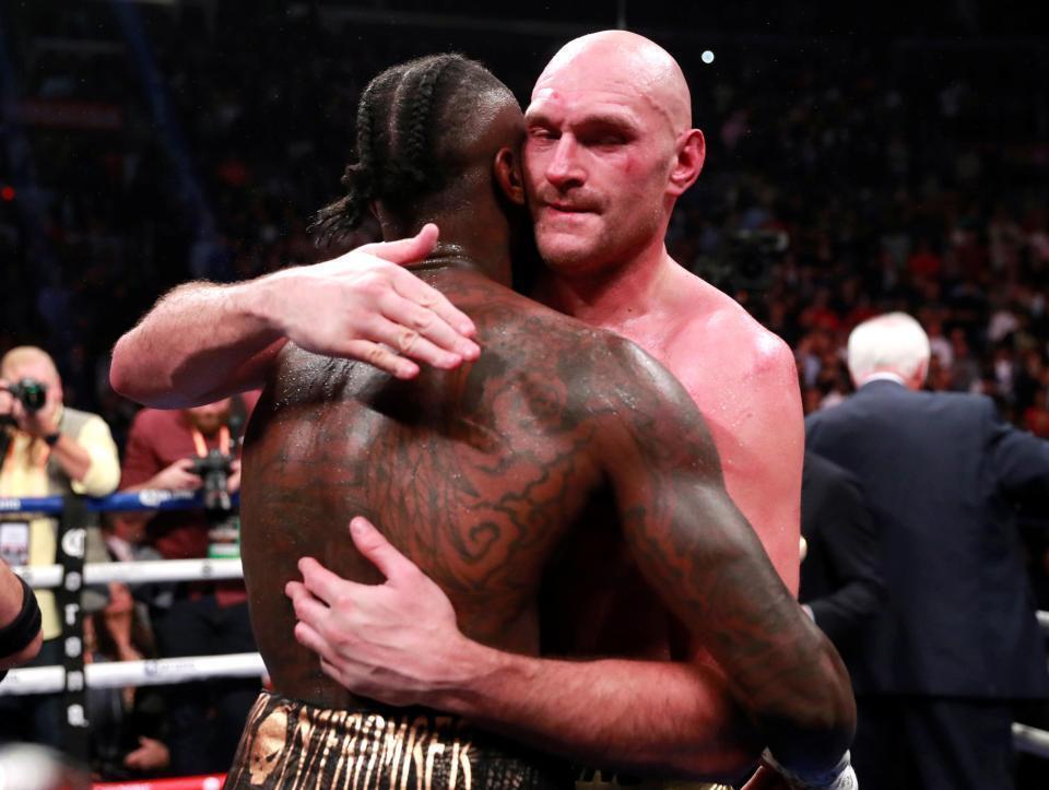 Уайлдер и Фьюри завершили необычным результатом бой с двумя нокдаунами