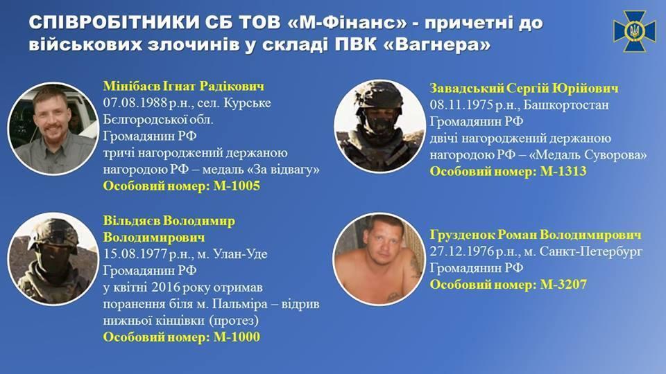 Названо членів ПВК ''Вагнера'', причетних до вбивства журналістів у ЦАР