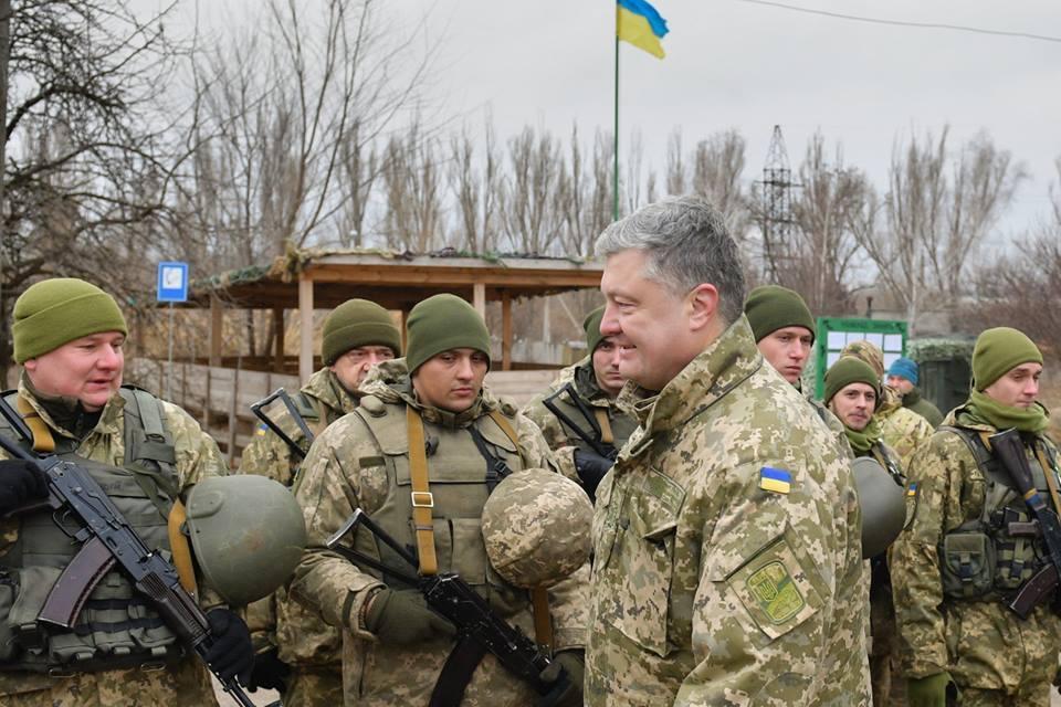 Президент на зустрічі з військовими