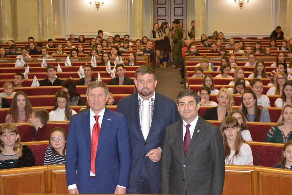 Сергей Шахов, Олег Недава, Дмитрий Лубинец