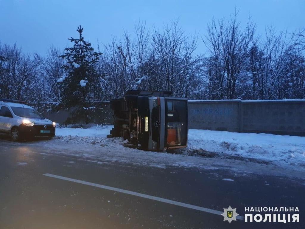 Аварія автобуса