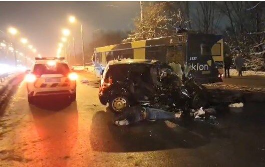 Аварія на Леся Курбаса