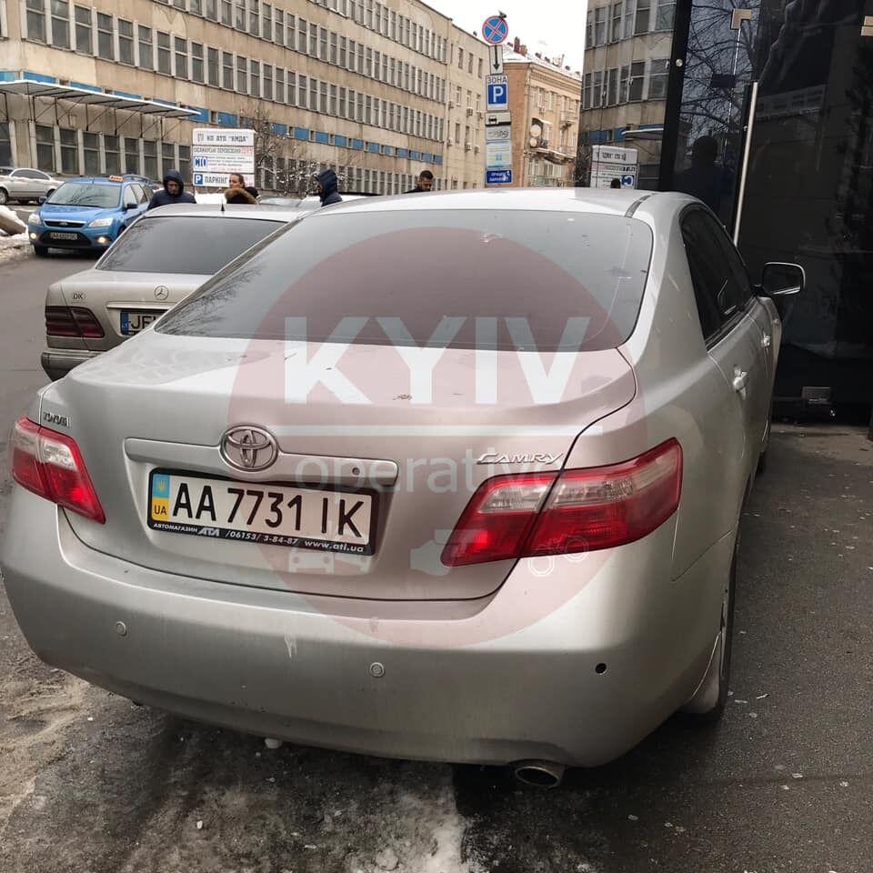 Аварія у Києві