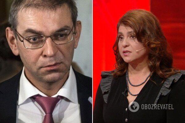 Сергій Пашинський і Тетяна Блистів