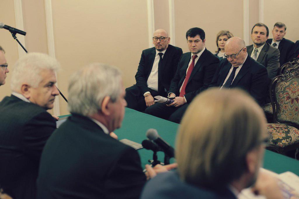 Роман Насиров на собрании предпринимателей