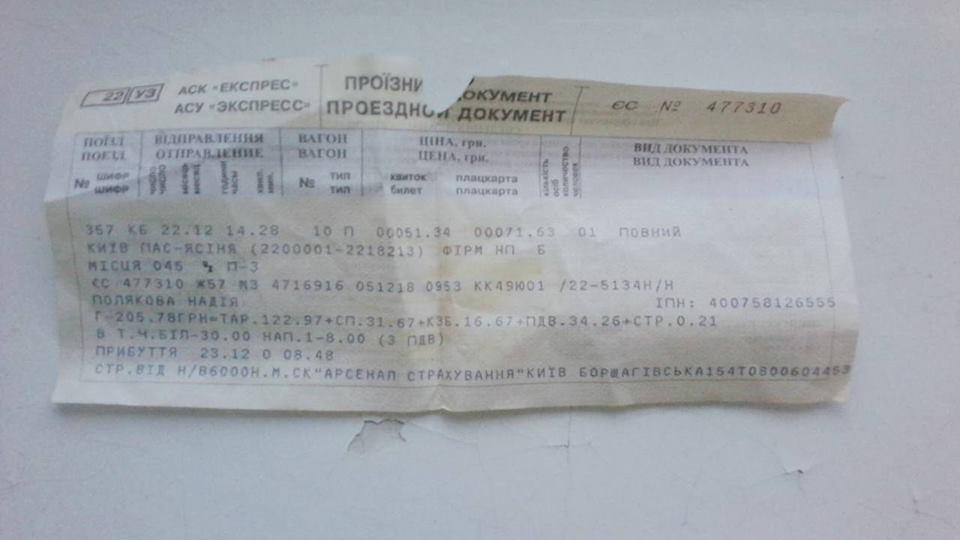 Таз раздроблен: в поезде УЗ на женщину рухнула полка с пассажиркой