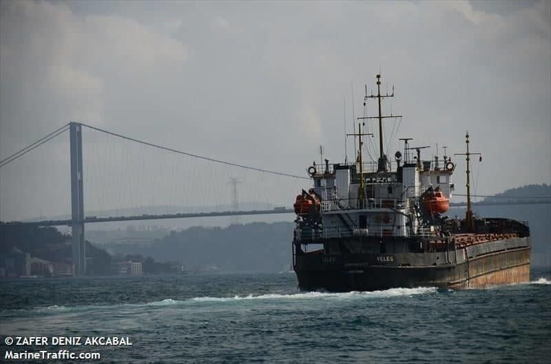 У Чорному морі сів на мілину суховантаж-порушник