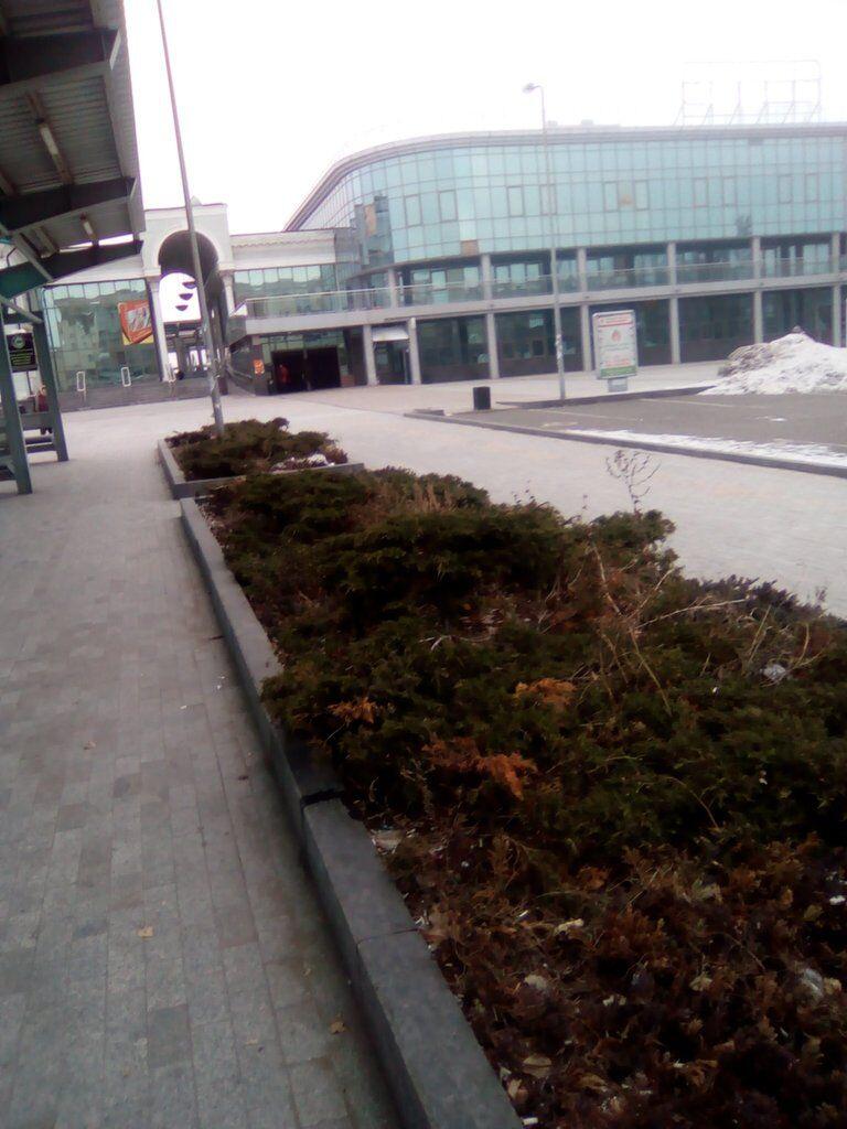 Донецк: грустные фото из города