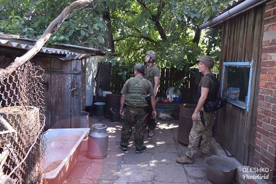 Освобождение н.п. Шумы, август 2018 год