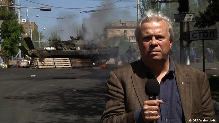 Журналіст-''кримнашист'' злякався Києва