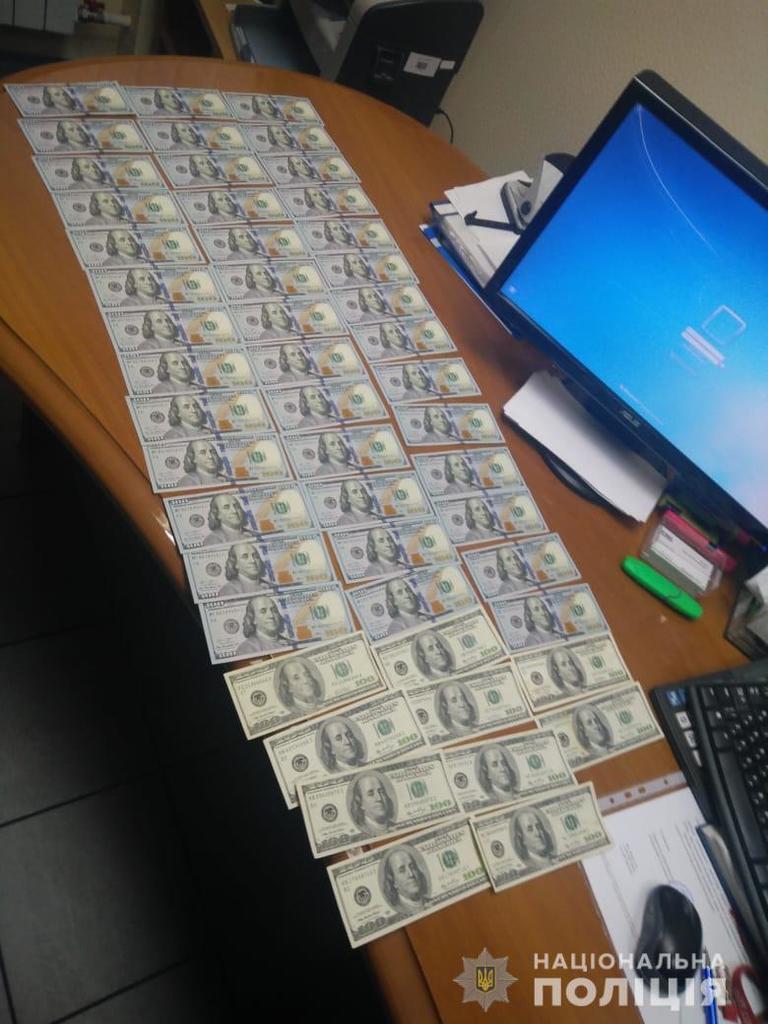 Руководитель киевского банка попалась на крупной взятке