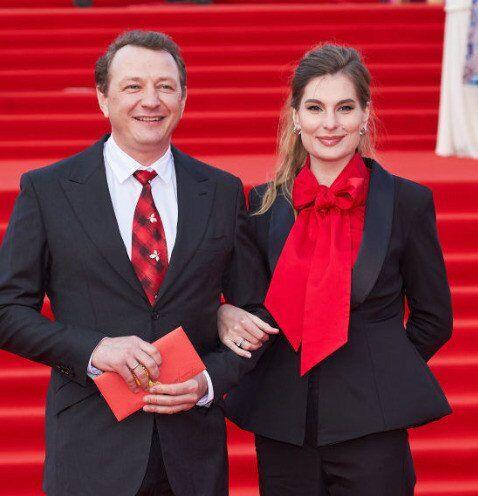 Марат Башаров із дружиною Лізою