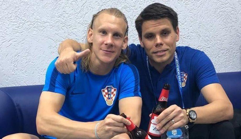 Домагой Віда (зліва) і Огнен Вукоєвич