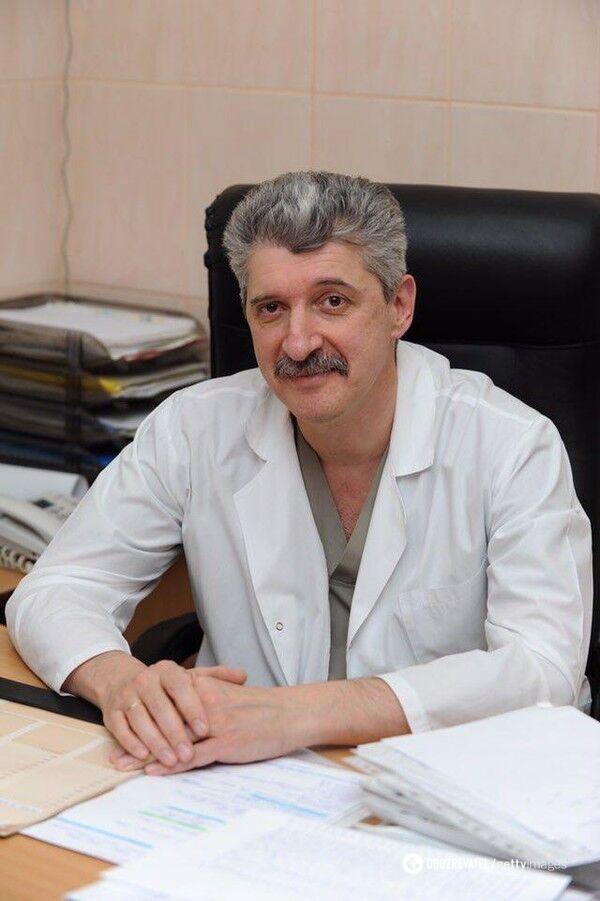Головний лікар пологового будинку №5 Дмитро Говсєєв
