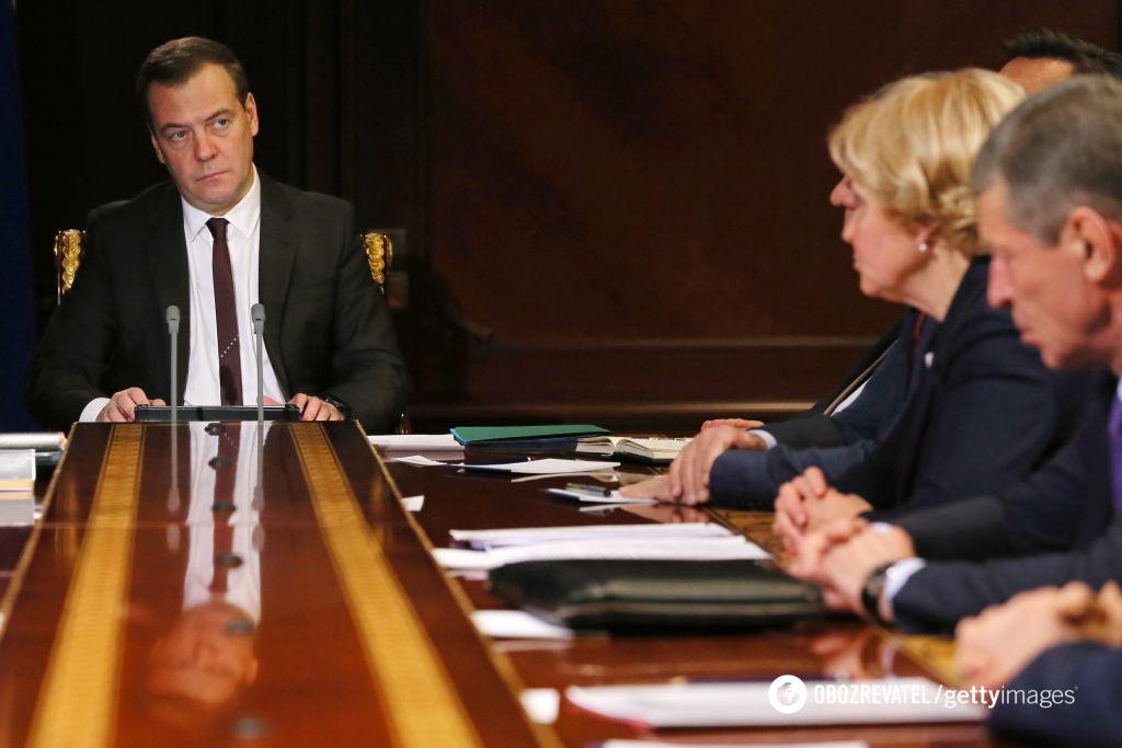 Добкин обматерил премьер-министра России Медведева