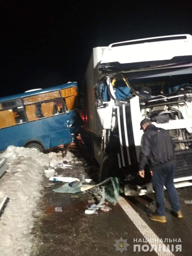 Аварія в Обухівському районі