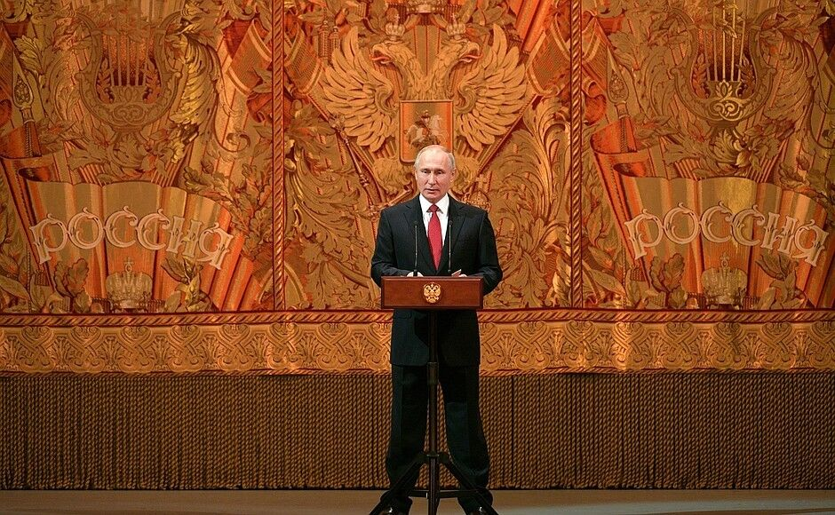 Закінчився 2019-й: Путін осоромився з підсумковою промовою