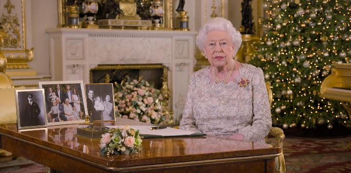 В рождественском обращении королевы Елизаветы нашли скрытое послание